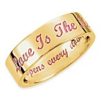 Love is the Key® 14K Yellow Gold 6MM Wedding Band