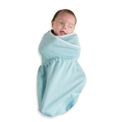 Ergobaby™ 2-Pack Size Small/Medium Swaddler in Blue/Natural
