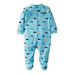 Carter's® Blue Whale Print 1-Piece Footie