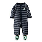 Carter's® Navy Stripe Monster1-Piece Footie
