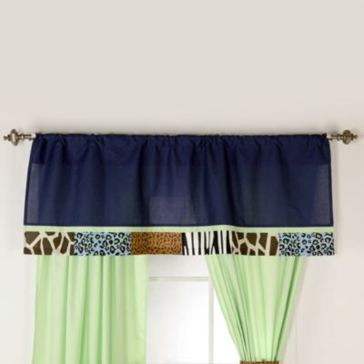 One Grace Place Jazzie Jungle Boy Window Valance