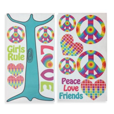 One Grace Place Terrific Tie Dye Wall Decals
