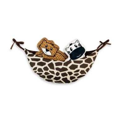 One Grace Place Jazzie Jungle Boy Toy Bag