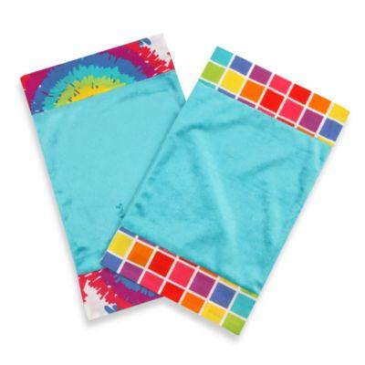 One Grace Place Terrific Tie Dye Burp Cloths