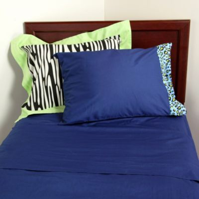 Animal Print Twin Sheet Set