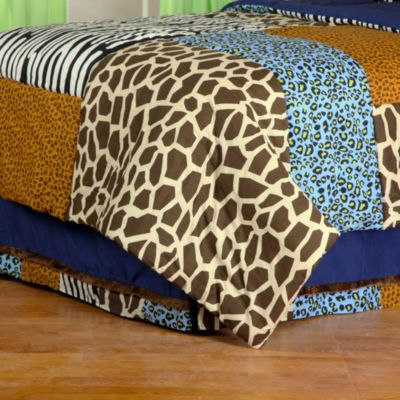 Print Twin Bed Skirt