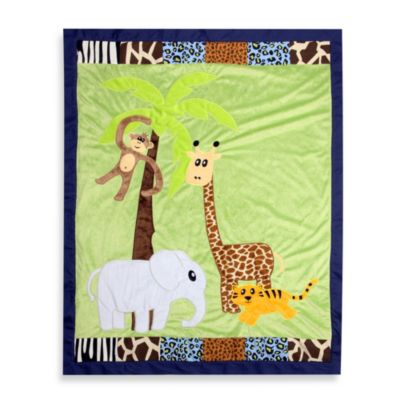 One Grace Place Jazzie Jungle Boy Quilt