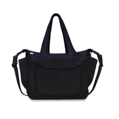 Built® Go-Go Diaper Tote in Gridlock
