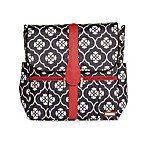 JJ Cole Backpack Diaper Bag in Black Floret