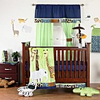 One Grace Place Jazzie Jungle Boy 8-Piece Crib Bedding Set