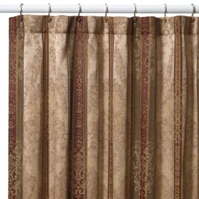 "Townhouse 72"" x 96"" Fabric Shower Curtain"