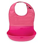 OXO Tot® Roll Up Bib in Pink