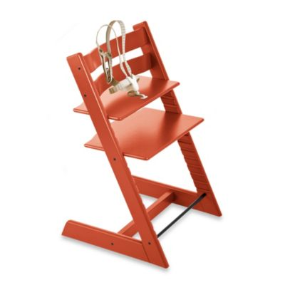 Stokke® Tripp Trapp® Lava Orange Highchair and Accessories
