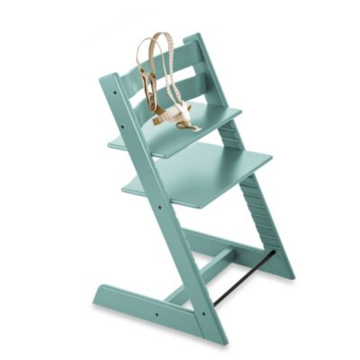 Stokke® Tripp Trapp® Aqua Blue Highchair and Accessories