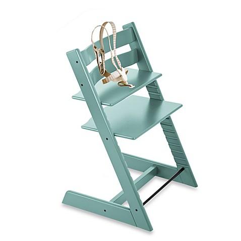 Stokke Tripp Trapp Aqua Blue High Chair and Accessories