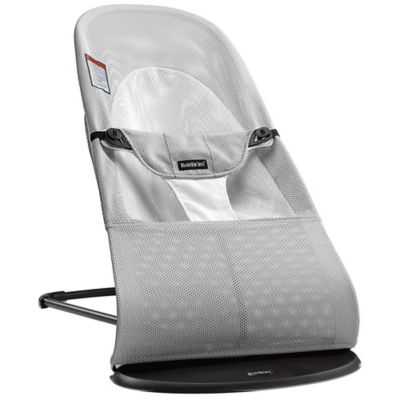 BABYBJORN® Bouncer Balance Soft in Silver/White Mesh