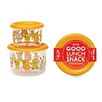 Sugarbooger® by o.r.e Hungry Monsters Good Lunch® Snack Containers (Set of 2)