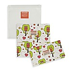 Sugarbooger® by o.r.e Good Lunch Set of 3 Snack Sack in Hoot!