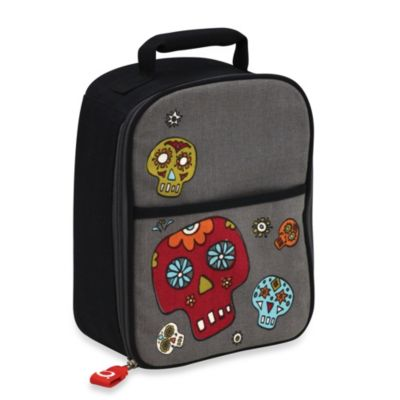 Sugarbooger® by o.r.e Zippee Lunch Tote in Dia de los Muertos