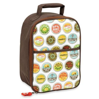 Sugarbooger® by o.r.e Zippee Lunch Tote in Bottle Cap