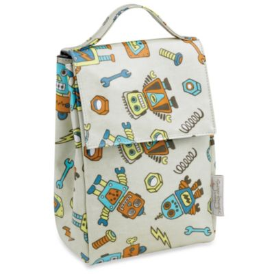 O.R.E Lunch Sack in Retro Robot Accessories