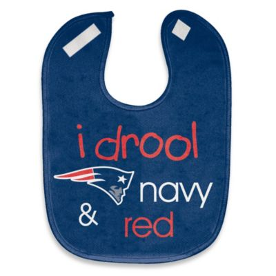 "NFL ""I Drool Navy & Red"" New England Patriots Mesh Bib"