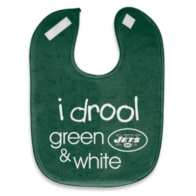 "NFL ""I Drool Green & White"" New York Jets Mesh Bib"