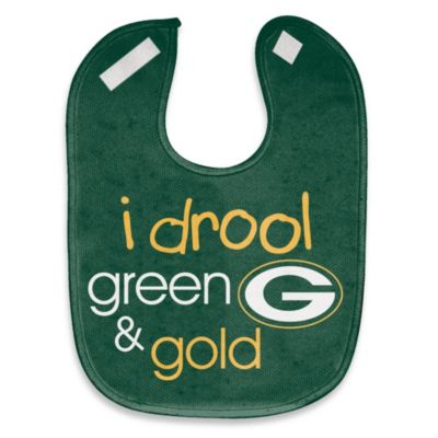 "NFL ""I Drool Green & Gold"" Green Bay Packers Mesh Bib"