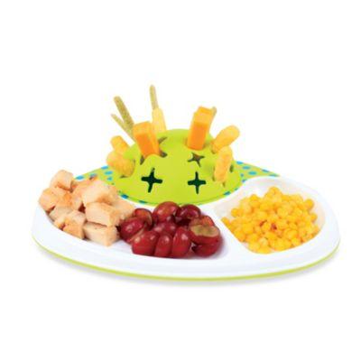White/Green Kids Dinnerware