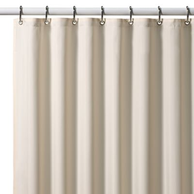 Croscill® Hotel 70-Inch x 72-Inch Fabric Shower Curtain Liner in Ivory
