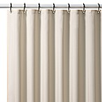 Hotel Ivory Fabric Shower Curtain Liner