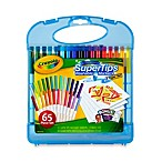 Crayola® Washable Super Tips 65-Piece Marker & Paper Set