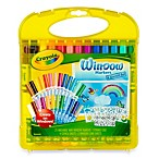Crayola® Window Marker & Stencil 31-Piece Storage Set
