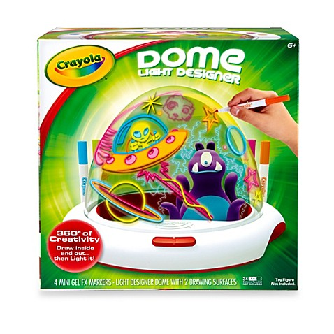 Crayola dome light designer buybuy baby Crayola fashion design studio reviews
