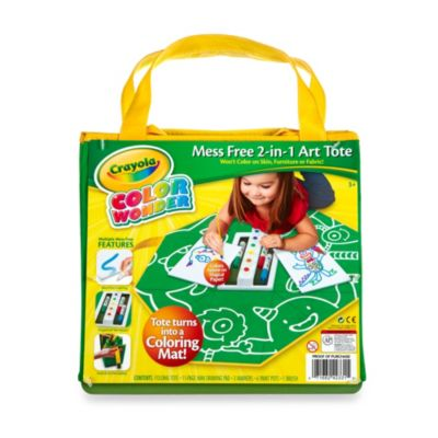 Crayola® Color Wonder Mess Free 2-in-1 Art Tote Bag