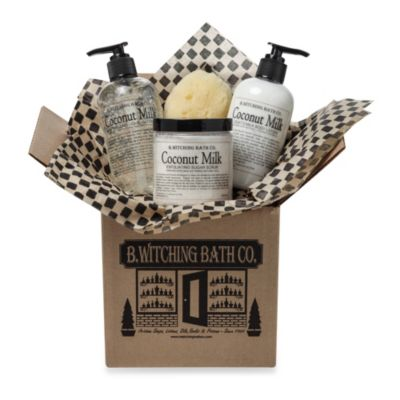 B. Witching Bath Co. Coconut Milk Bath & Body Gift Set