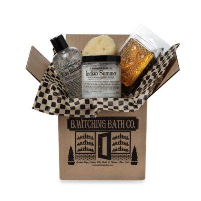 B. Witching Bath Co. Gentleman's Grooming Essentials Gift Set