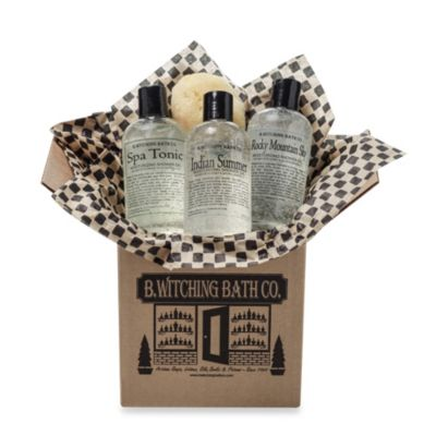 B. Witching Bath Co. Guy's Campus Grooming Essentials Gift Box