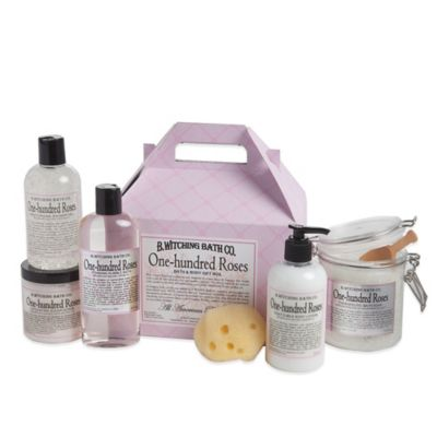 B. Witching Bath Co. One Hundred Roses Bath & Body Gift Set