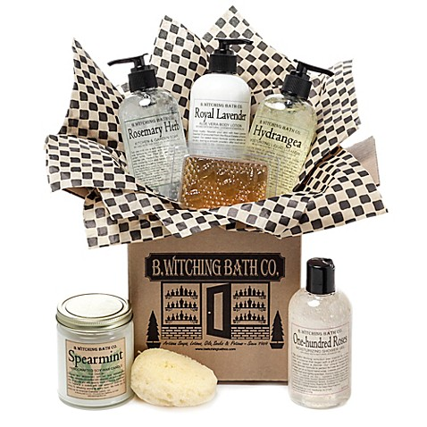 B. Witching Bath Co. Country Cottage Gift Set - Bed Bath ...