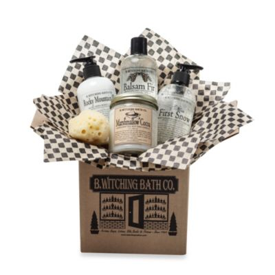B. Witching Bath Co. Mountain Lodge Gift Set