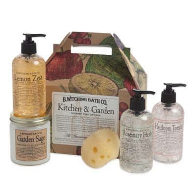 B. Witching Bath Co. Gourmet Kitchen & Garden Gift Set