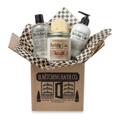 B. Witching Bath Co. Birthday Cake Gift Set