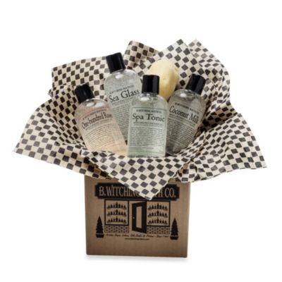 B. Witching Bath Co. Shower Lover's Gift Set