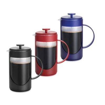 3-Cup Ami-Matin Unbreakable French Press in Black