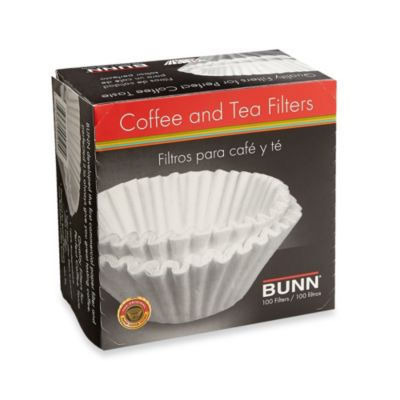 Buy Bunn 100-Count Coffee and Tea Filters from Bed Bath & Beyond