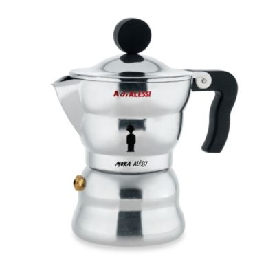 Moka Alessi Stovetop Espresso Coffee Makers
