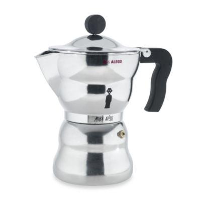 Alessi Moka 6-Cup Stovetop Espresso Coffee Maker