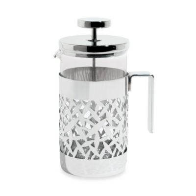 8-Cup Press Filter Coffee Maker