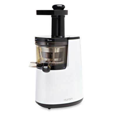 Hurom® HH Series Premium Slow Juicer/Smoothie Maker with Cookbook in Pearl White